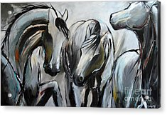 Horsin' Around Acrylic Print