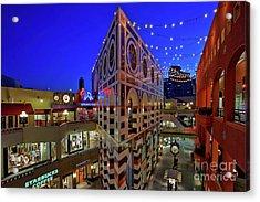 Horton Plaza Shopping Center Acrylic Print