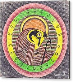 Horus  Acrylic Print by Eman Allam