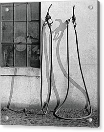 Acrylic Print featuring the painting Hoses by Peter J Sucy