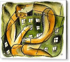 Hospital Acrylic Print