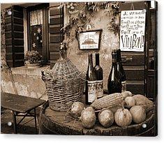 Hostaria Alla Rocca Acrylic Print