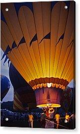 Hot Air Balloon - 10 Acrylic Print by Randy Muir