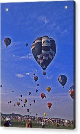 Hot Air Balloon - 14 Acrylic Print