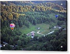 Hot Air Balloon - 3 Acrylic Print by Randy Muir