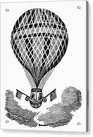 Hot Air Balloon Acrylic Print by Granger