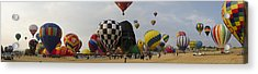 Hot Air Balloon Races Acrylic Print