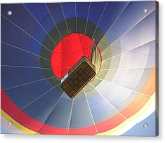 Hot Air Balloon Acrylic Print by Richard Mitchell