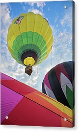 Hot Air Balloon Takeoff Acrylic Print