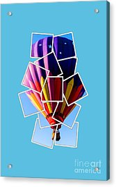 Hot Air Balloon Tee Acrylic Print