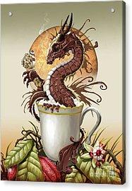 Hot Chocolate Dragon Acrylic Print