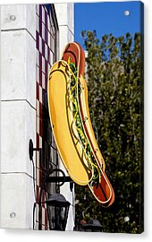 Hot Dogs Acrylic Print