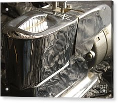 Hot Lather Shave Cream Dispenser Acrylic Print by Jason Freedman