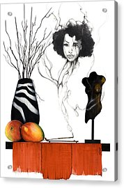 Hot Like Fire IIi Acrylic Print