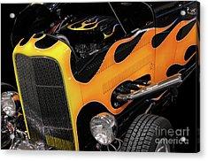 Hot Rod Acrylic Print by Oleksiy Maksymenko