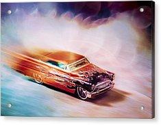 Hot Rod Racer Acrylic Print