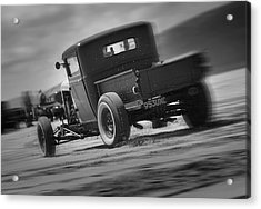 Hot Rods At Pendine 13 Acrylic Print