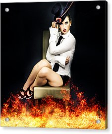 Hot Seat Of Entertainment Acrylic Print by Jorgo Photography - Wall Art Gallery