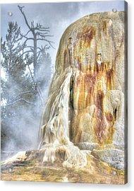 Hot Springs Acrylic Print