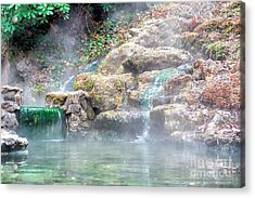 Acrylic Print featuring the photograph Hot Springs In Hot Springs Ar by Diana Mary Sharpton