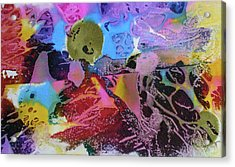 Acrylic Print featuring the painting Hot Stuff by Mary Sullivan