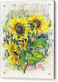 Hot Summer Day 3 Acrylic Print by Elisabeta Hermann