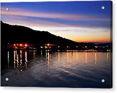 Hot Summers Night Acrylic Print