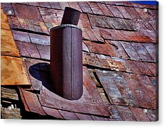 Hot Tin Roof Acrylic Print by Kelley King
