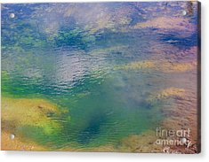 Acrylic Print featuring the photograph Hot Water Color  by Robert Pearson