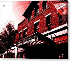 Acrylic Print featuring the photograph Hotel Congress by MB Dallocchio