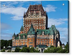 Chateau Frontenac In Quebec City Acrylic Print