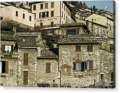 Acrylic Print featuring the photograph Hotel Giotto by John Hix