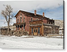 Hotel Meade And Saloon Acrylic Print