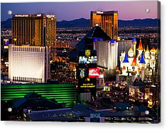 Hotel Room Heaven  Acrylic Print by James Marvin Phelps