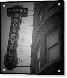 Hotel Roosevelt Acrylic Print