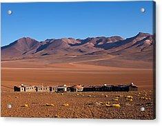Hotel Tayka Del Desierto In Siloli Desert Acrylic Print