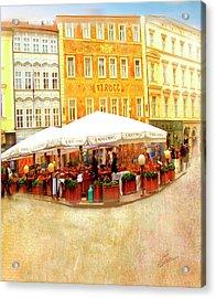 Hotel U Prince Prague Acrylic Print