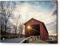 Houck Covered Bridge  Acrylic Print