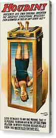 Houdini Water Filled Torture Cell Acrylic Print by Unknown