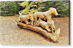Hounds On The Run Acrylic Print