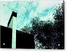 House And Sky Acrylic Print
