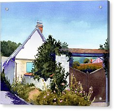 House At Giverny Acrylic Print