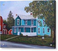 House In Seward Acrylic Print