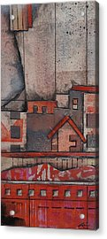House In The City  Acrylic Print