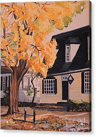 House In Williamsburg  Va Acrylic Print