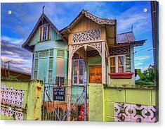 House Of Colors Acrylic Print