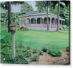 House Of David Acrylic Print by Ferrel Cordle