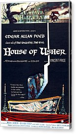 House Of Usher, Aka The Fall Of The Acrylic Print by Everett