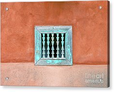 House Of Zuni Acrylic Print by David Lee Thompson
