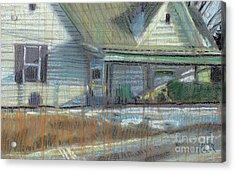 House On Cherokee Street Acrylic Print by Donald Maier